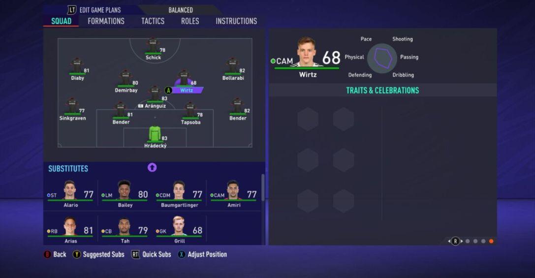 Florian Wirtz FIFA 21