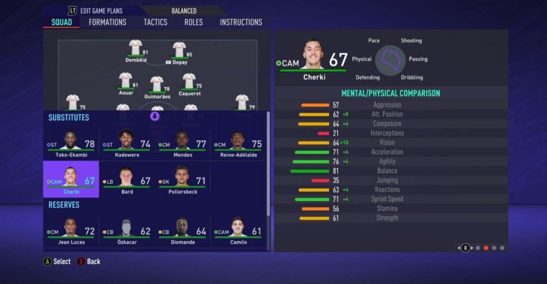 Rayan Cherki FIFA 21