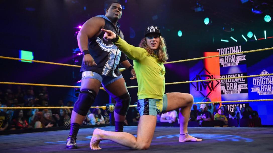 Matt Riddle and Keith Lee