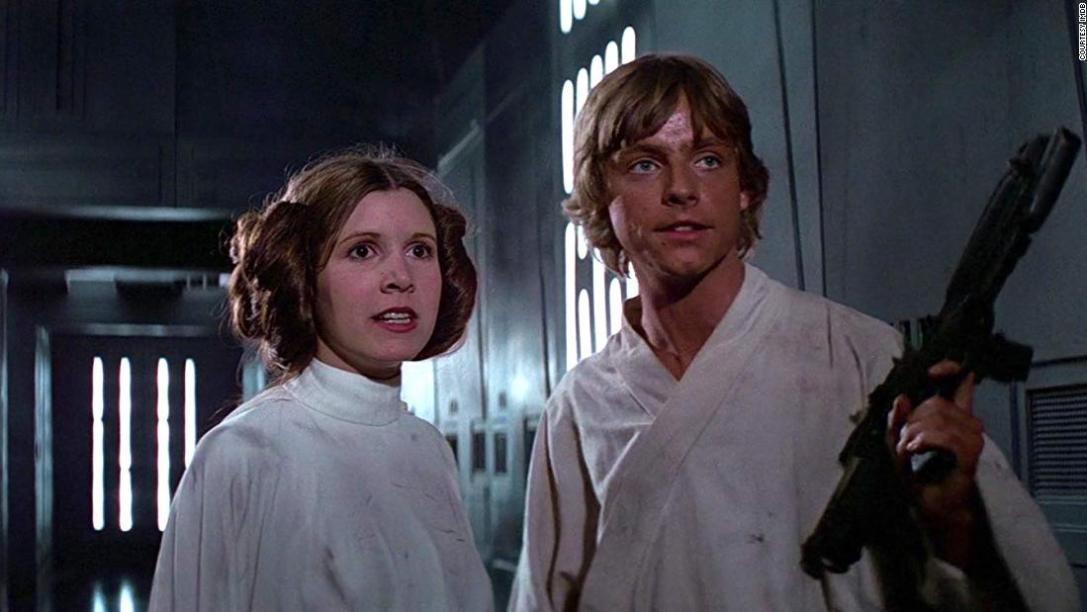 star wars a new hope mark hamill carrie fisher