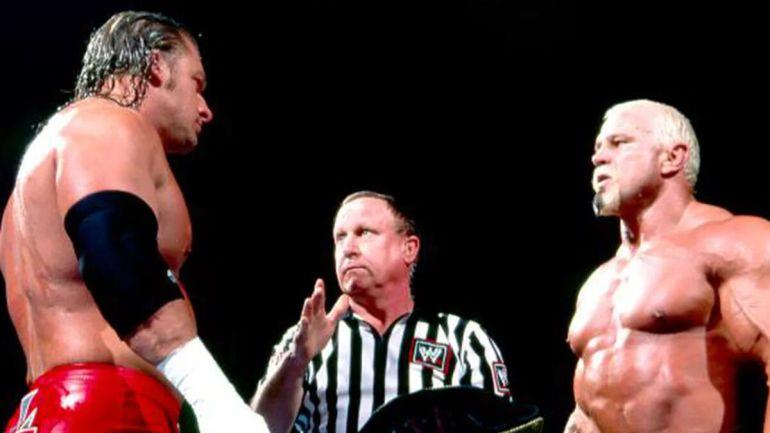 Triple H vs Scott Steiner