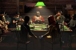 Rust poker tables