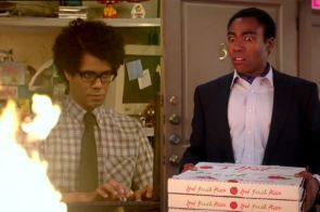 the it crowd richard ayoade community donald glover
