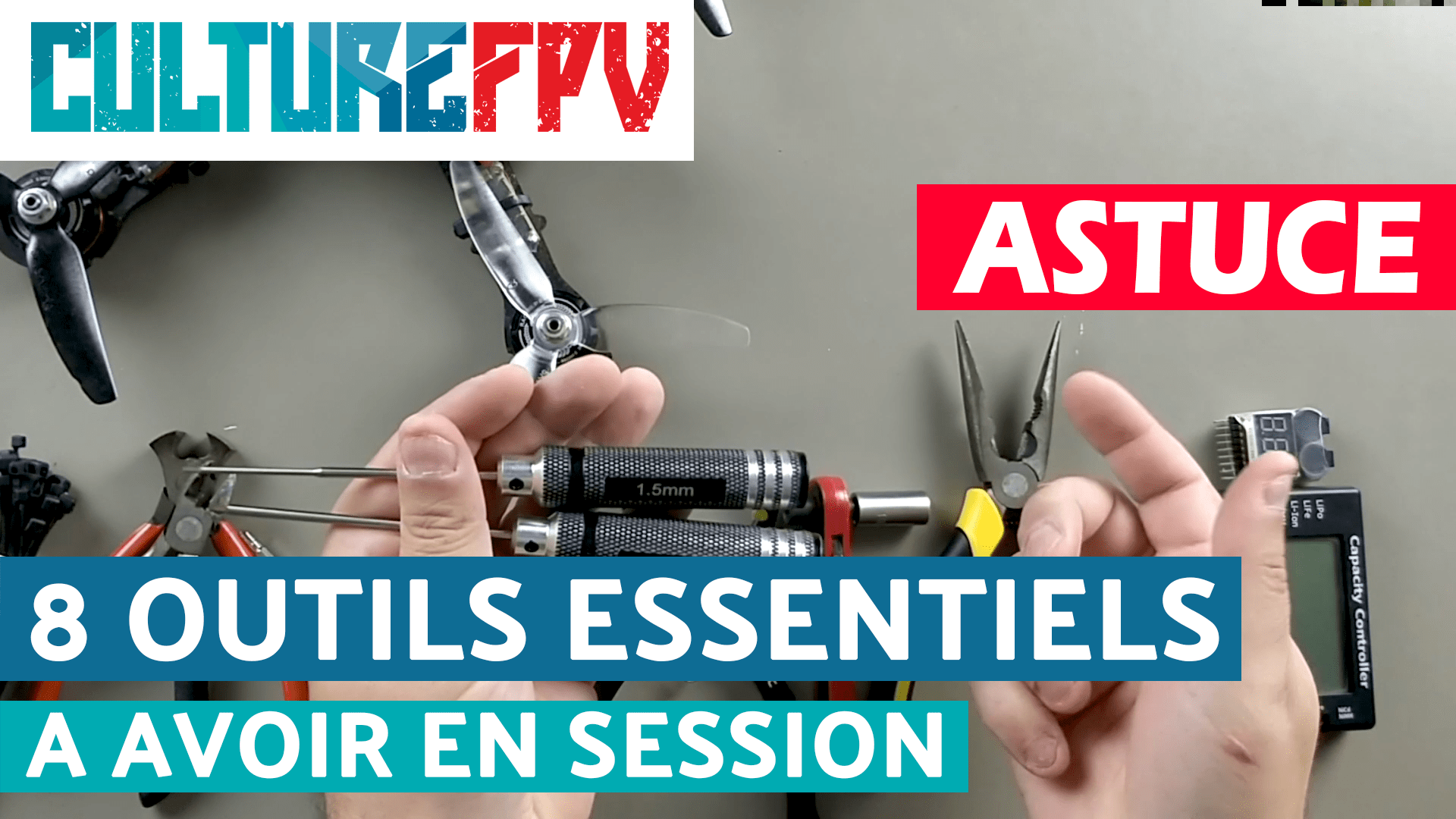 8 outils essentiels