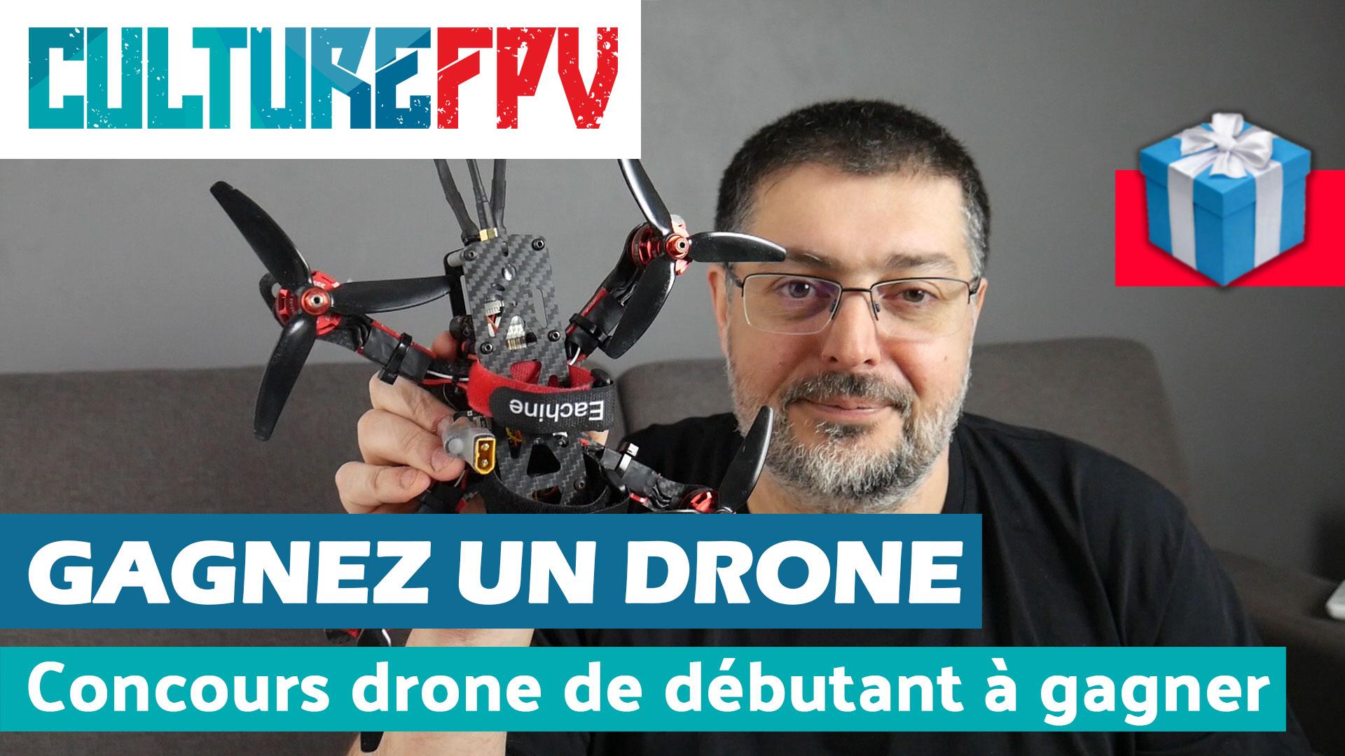 Concours : gagnez un drone prêt à voler pour débutant