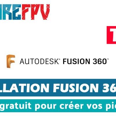 installation de Fusion 360