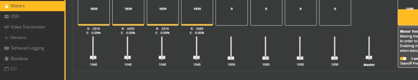 BLHeli_S RPM Filter Betaflight