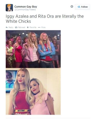 Iggy Azalea - Rita Ora - White Chicks