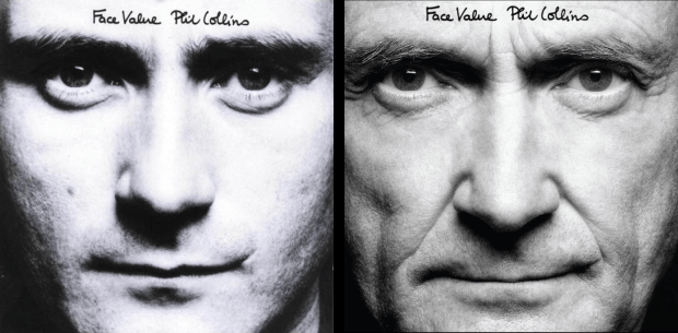 phil collins face value 2016 & 1981