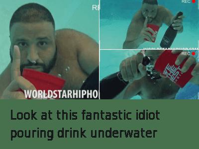underwater dj khaled
