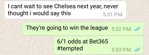 chelsea prediction