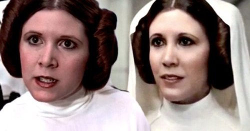 Carrie Fisher - Rogue One CGI