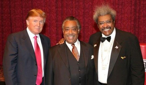 Donald Trump, Al Sharpton, Don King