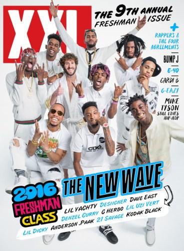 xxl freshman cover 2016