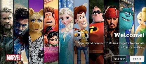 Disney Streaming platform
