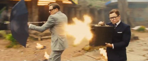 Kingsman - golden circle galahad and eggsy