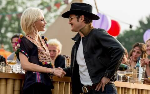 Poppy Delevingne and Pedro Pascal kingsman: the golden circle