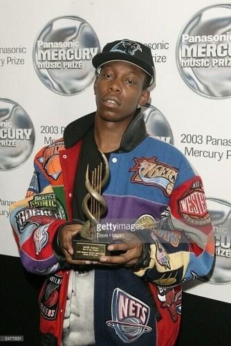Dizzee Rascal - 2003 Mercury Award