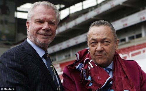 west ham david gold david sullivan