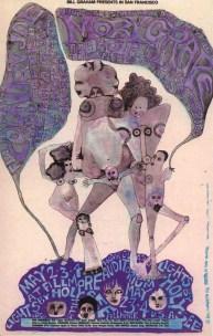 Country joe, Moby grape,filmore auditorium san francisco 1968,by Mari Tepper