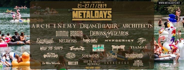 MetalDays 2019 - bandeau
