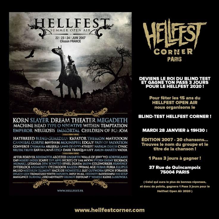 Blind Test Hellfest Corner 2007