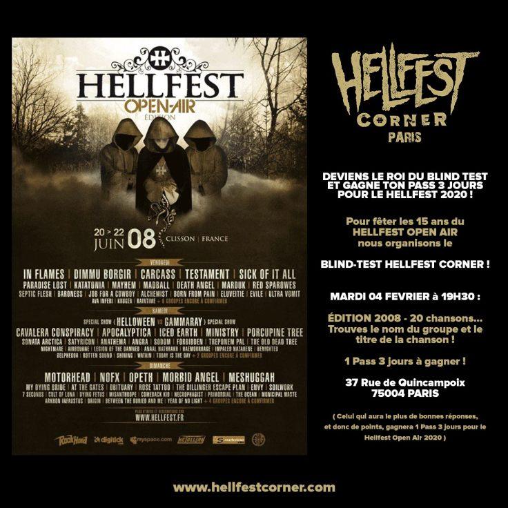 Blind Test Hellfest Corner 2008