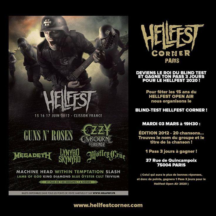 Blind Test Hellfest Corner 2012