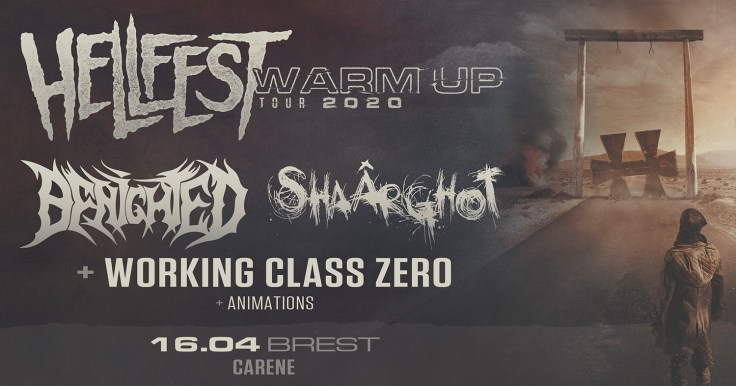 Hellfest Warm Up Tour 2020 @ Brest