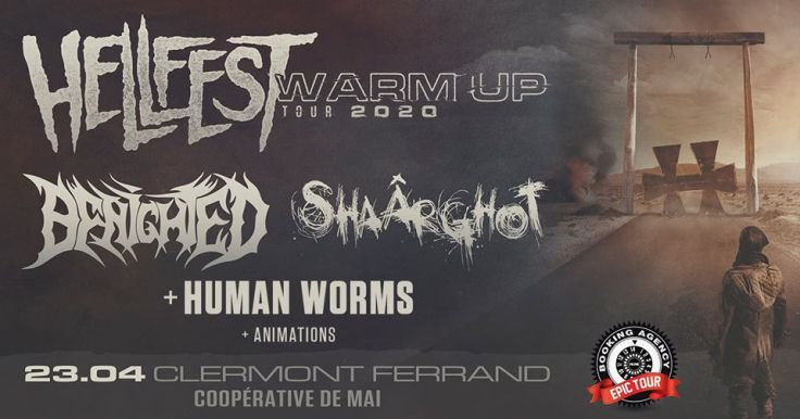Hellfest Warm Up Tour 2020 @ Clermont-Ferrand