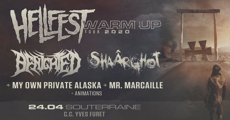 Hellfest Warm Up Tour 2020 @ La Souterraine