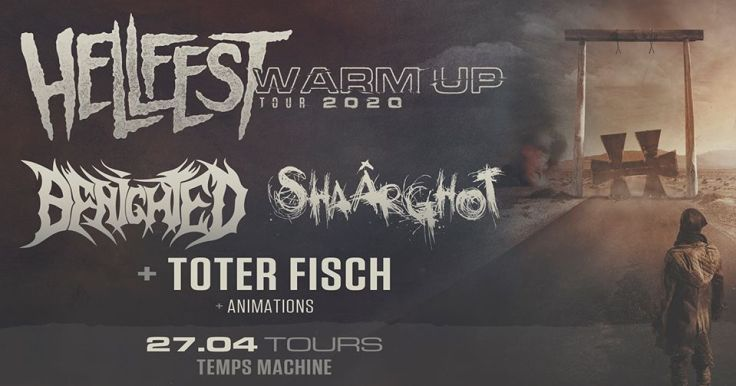 Hellfest Warm Up Tour 2020 @ Tours