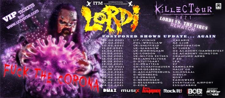 Lordi vs the virus