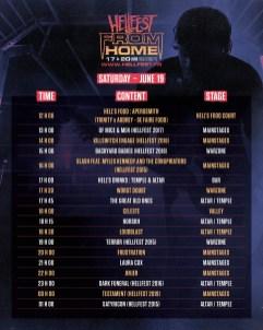 Hellfest Fom Home dimanche 19