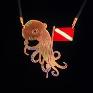Custom Order Octopus with Dive Flag