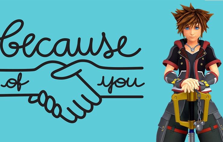 Kingdom Hearts 3 Showcased in Anti-bullying Campaign