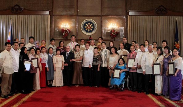 2010 Presidential Awards for Filipino Individuals and Organizations Overseas