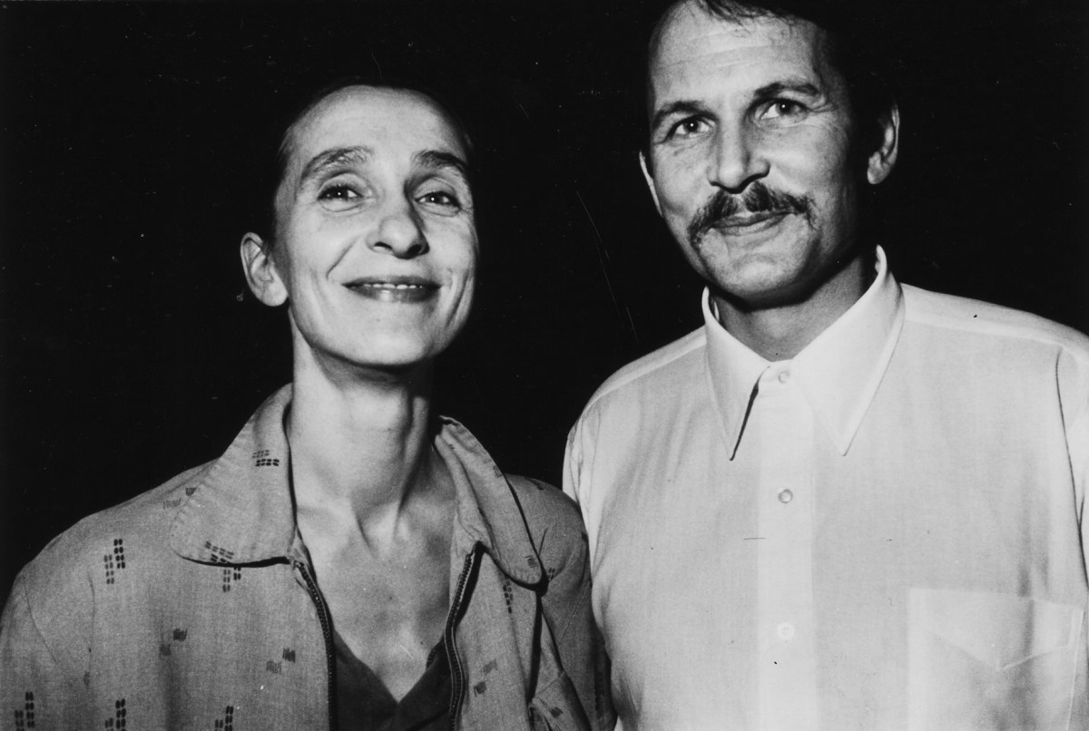 Pina Bausch and her husband Ronald Kay in 1982 | Photo by William Yang