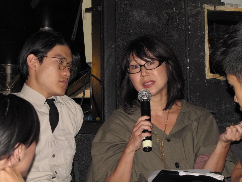 "Nancy Kim Parsons, New York actor, at ""RepresentAsian"" | Courtesy of AAPAC"
