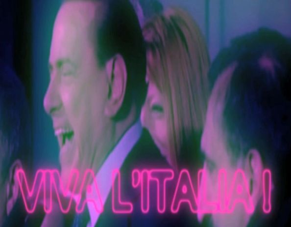 "Censored in Rome: JacobTV's video aria of former Prime Minister Silvio Berlusconi in ""The News"""