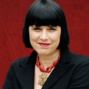 """Eve Ensler, V-Day founder and author of """"Vagina Monologues"""""""