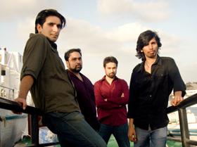 Pakistani rock band noori | Photo by Mandana Zaidi