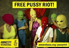 Amnesty International Demands Russia Release Punk Singers Detained Following Church Performance