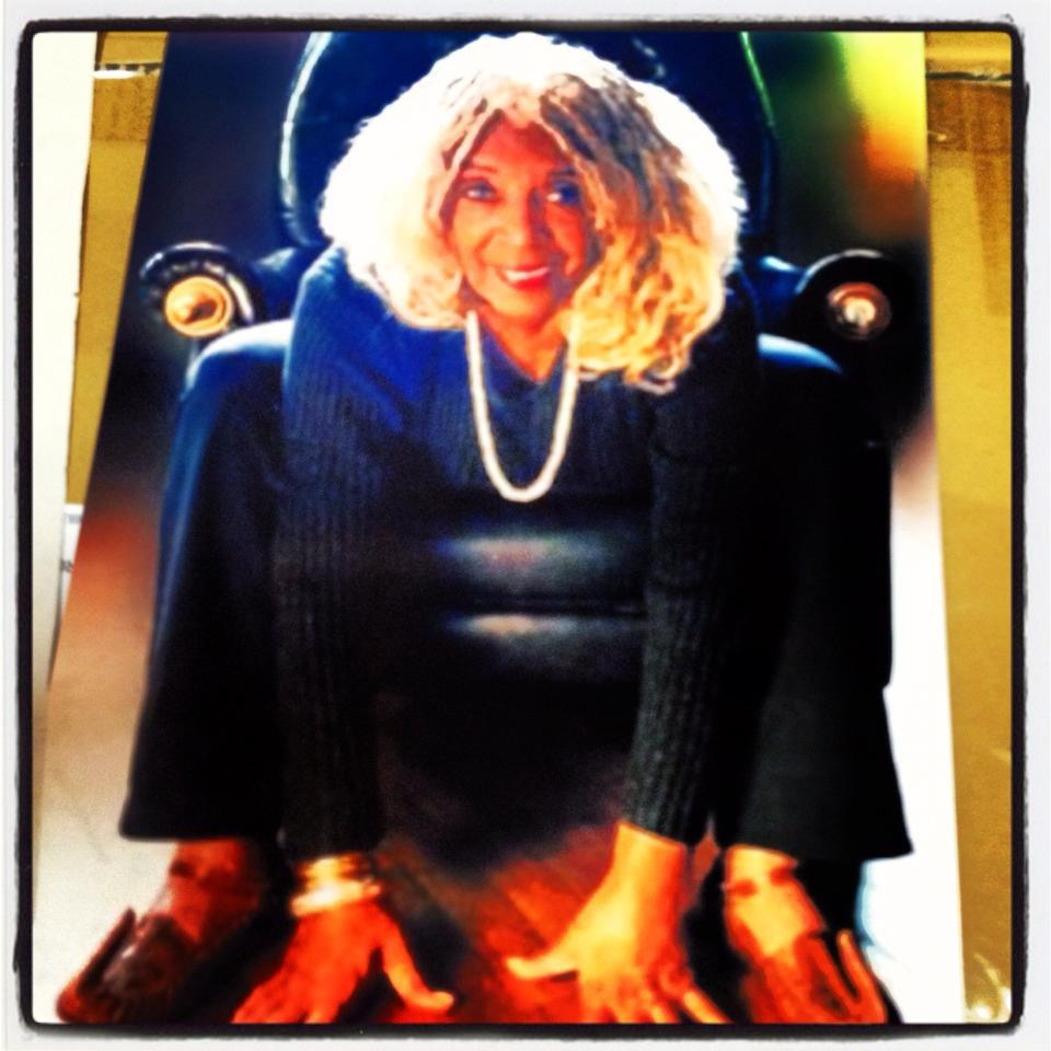 Day 1 | We found this photo of Ellen Stewart, but we use a different photo of LaMaMa for the actual exhibition