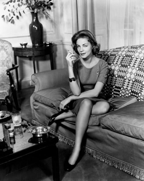 Lauren_Bacall (1958) | Photo by Cornel Lucas