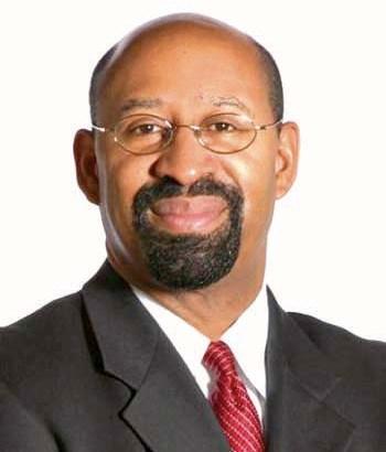 Philadelphia's Mayor Michael A. Nutter