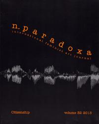 n.paradoxa, a feminist journal