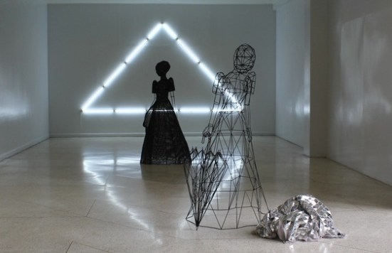 """The Future That Was"" installation by Patricia Perez Eustaquio"