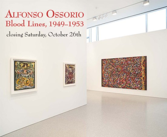 "Painter Alfonso Ossorio: ""Baby Collector,"" 1950; ""Untitled,"" c.1950; and ""Blood Lines,"" 1953-54"