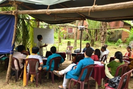 An ARTThinkSouthAsia program in India
